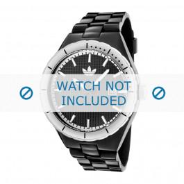Klockarmband Adidas ADH2031 Silikon Svart 16mm