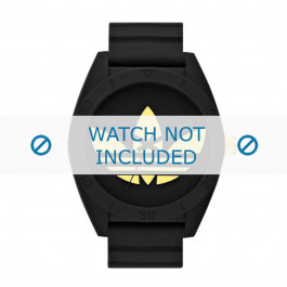 Klockarmband Adidas ADH2712 Silikon Svart 24mm