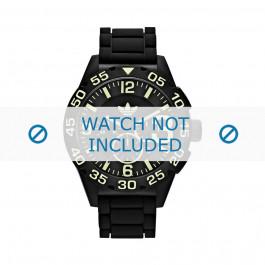 Klockarmband Adidas ADH2854 Silikon Svart 22mm
