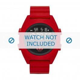 Klockarmband Adidas ADH2909 Silikon Röd 24mm