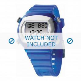 Adidas klockarmband ADH1574 Gummi / plast Blå