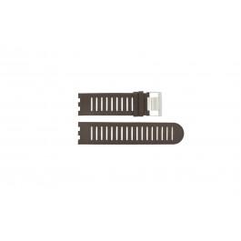 Klockarmband Alessi AL14001 Läder Brun 25mm
