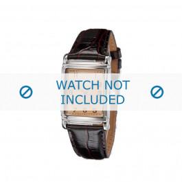 Klockarmband Armani AR0203 Läder Brun 22mm