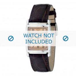 Klockarmband Armani AR0204 Läder Brun 18mm
