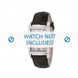 Klockarmband Armani AR0284 Läder Svart 22mm