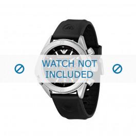 Klockarmband Armani AR0548 Gummi Svart 23mm
