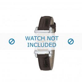 Armani klockarmband AR0260 Läder Brun 14mm