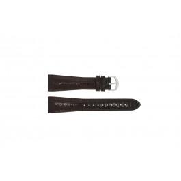 Klockarmband Armani AR0248 XL Läder Brun 22mm