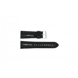 Armani klockarmband AR0263 / AR8004 / AR8006 Läder Svart 24mm