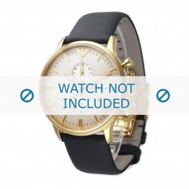 Klockarmband Armani AR0386 Läder Grå 22mm