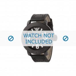 Armani klockarmband AR-5832 Läder Svart
