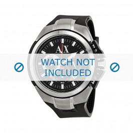 Klockarmband Armani AX1042 Silikon Svart 32mm