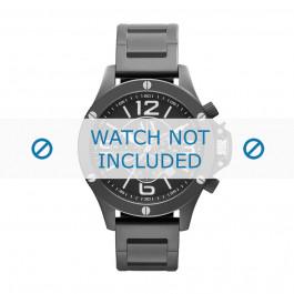 Klockarmband Armani AX1503 Stål Svart 22mm