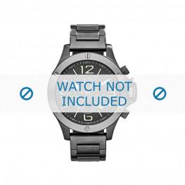 Klockarmband Armani AX1507 Stål Grå 22mm