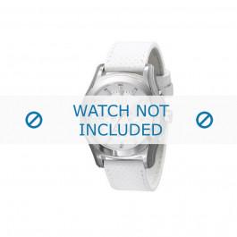 Klockarmband Armani AX2071 Läder Vit 22mm
