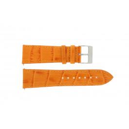 Klockarmband Davis B0201 / 20 Läder Apelsin 20mm