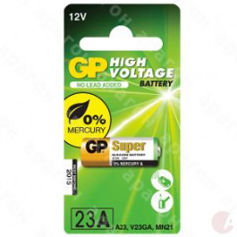 GP Andra Batteri 23AE / A23 / V23GA / MS21 / MN21 - 12v