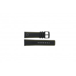 Klockarmband Camel BC51068 Läder Svart 24mm