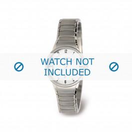 Klockarmband Boccia 3158-01 Titan Antracitgrå 14mm