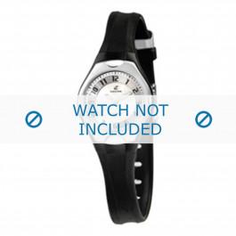 Klockarmband Calypso K5163-2 Gummi Svart 8mm