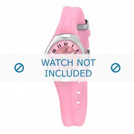 Klockarmband Calypso K5163-5 Gummi Rosa 10mm