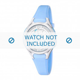 Calypso klockarmband K5575-3 Gummi / plast Ljusblå