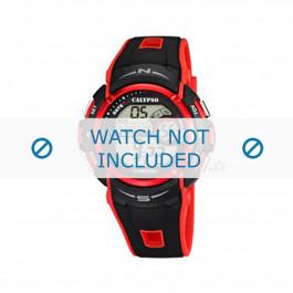 Klockarmband Calypso K5610.5 Gummi Röd 22mm