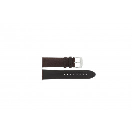 Klockarmband Camel 4320-4347 / BC50938 WATERPROOF Läder Brun 22mm