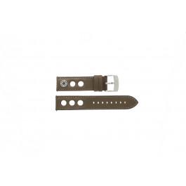 Klockarmband Camel 3120-3129 / 3520-3529 / BC50994 Läder Brun 22mm