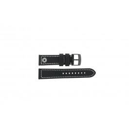 Klockarmband Camel BC51084 Active Läder Svart 24mm
