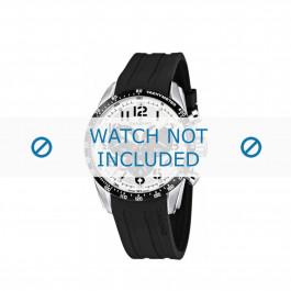 Klockarmband Candino C4472 Gummi Svart 22mm