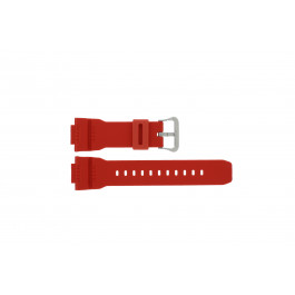 Klockarmband Casio G-7900A-4 / 10332099 Gummi Röd 16mm