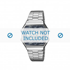 Klockarmband Casio A168WEC-1EF / 70641447 Stål 18mm
