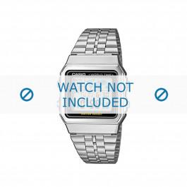 Klockarmband Casio A500WEA-1EF / A500WEA-1 / 10484919 Stål 18mm