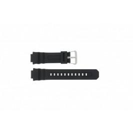 Klockarmband Casio AW-590-1A / AWG-100 / AWG-101 / AWG-591 Gummi Svart 16mm
