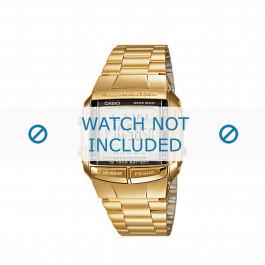 Klockarmband Casio DB-360GN-9AEF / DB-360GN-9A / 10334582 Stål Guldpläterad 15mm