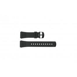 Klockarmband Casio DBC-32C-1BW Plast Svart 22mm