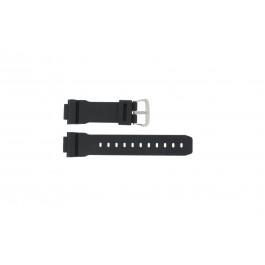 Klockarmband Casio DW-004C-1VST / DW-9051-DW-9052 Plast Svart 16mm