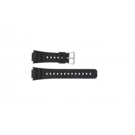 Klockarmband Casio DW-5000SL-1 / W-5600 / DW-5700 / DW-5750E Plast Svart 16mm