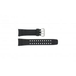 Klockarmband G-7400-1V Silikon Svart 16mm