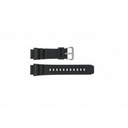 Klockarmband Casio G-9100-1 Silikon Svart 20mm