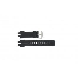 Casio klockarmband PRW-6000 Gummi Svart 16mm