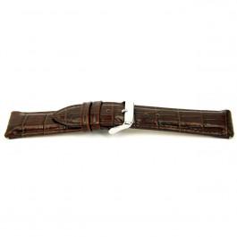 Klockarmband Universell I035-XL Läder Brun 24mm