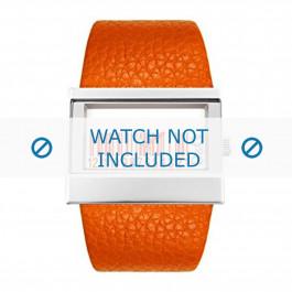 Klockarmband Dolce & Gabbana 3719240404 Läder Apelsin 35mm