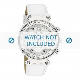 Dolce & Gabbana klockarmband DW0305 Läder Vit + sömmar vitt