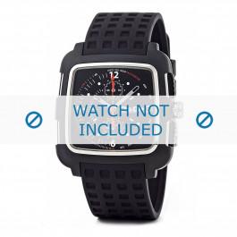 Klockarmband Dolce & Gabbana DW0362 Gummi Svart 24mm