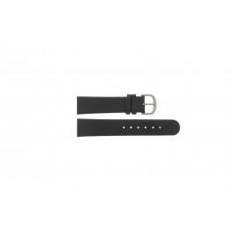 Klockarmband Danish Design IQ13Q672 / IQ12Q993 Läder Svart 20mm