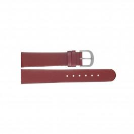 Klockarmband Danish Design ADDRD18 Läder Röd 18mm