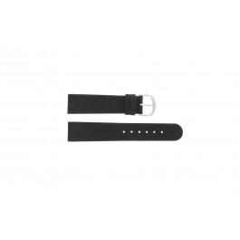 Klockarmband Danish Design IQ13Q272 / IQ12Q272 / IQ14Q199 / IQ16Q563 Läder Svart 18mm