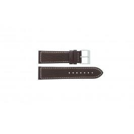 Davis klockarmband BB0453 Läder Brun 24mm